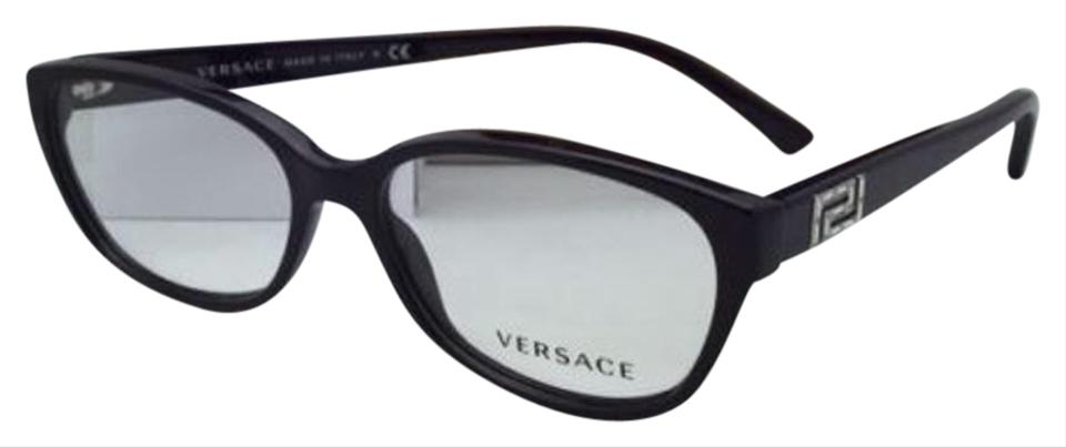 Versace New Ve 3189-b 5066 54-15 140 Violet Purple Frame W/ Crystals ...