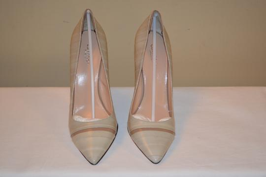 Calvin Klein Collection Ina Beige Leather Womens Pumps Image 1