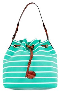 Dooney & Bourke Drawstring Canvas Shoulder Bag