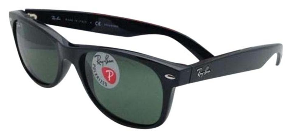 e84488a3dd Ray-Ban Polarized Ray-Ban Sunglasses NEW WAYFARER RB 2132 901 58 Black ...