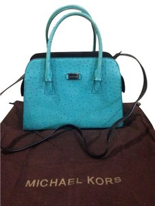 Michael Kors Satchel in Blue Gia
