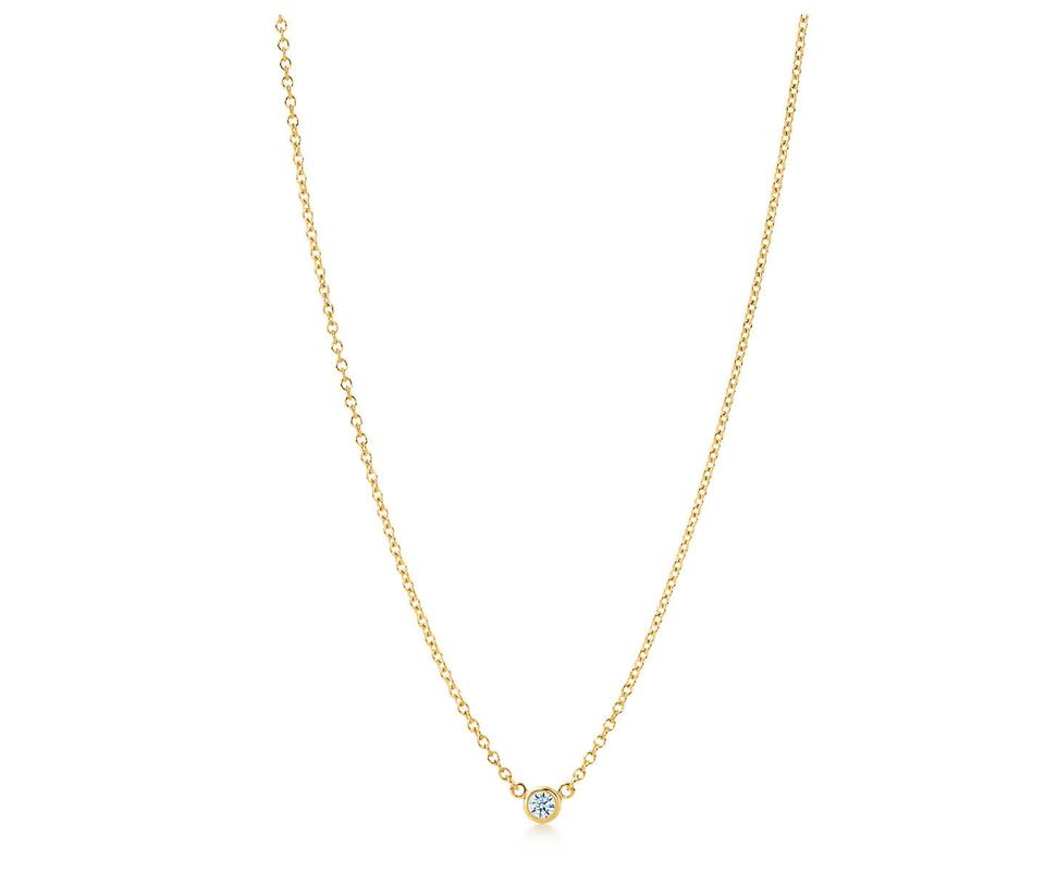 Tiffany co gold elsa perettir diamonds by the yardr pendant elsa perettir diamonds by the yardr aloadofball Gallery