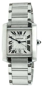 Cartier Cartier tank 2302 Francaise Stainless Steel Automatic Watch