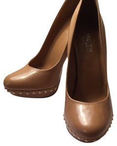 Preview International Tan Pumps