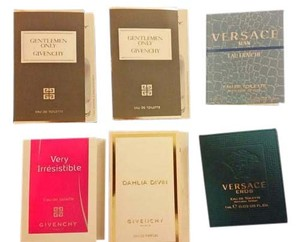 Versace Set of Givenchy and Versace perfume samples