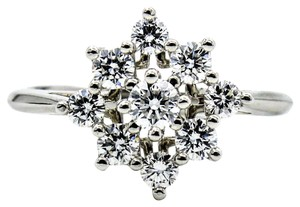 Tiffany & Co. Tiffany & Co. Diamond Cluster Ring in Platinum Size 5.5