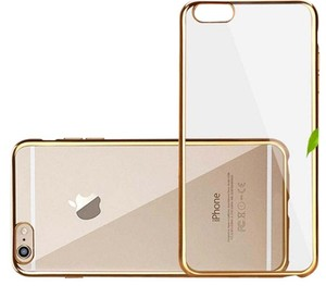 Other iPhone 6 or 6s Clear Case with Gold Trim