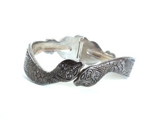 Other Sale-Egyptian Revival Silver Snake Bracelet, Size 8.. Free Shipping