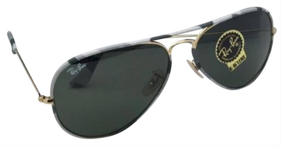 ee7c4d7dec7 Ray-Ban New RAY-BAN Sunglasses Aviator RB 3025-J-M 171 Grey Camouflage ...