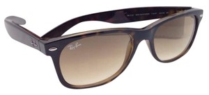 Ray-Ban Ray-Ban Sunglasses 2132 710/51 55-18 NEW WAYFARER Havana w/ Brown Fade