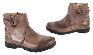 Birkenstock Leather Germany Ankle Brown Boots