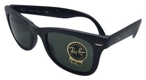 Ray-Ban Ray-Ban Sunglasses FOLDING WAYFARER RB 4105 601-S 50-22 Matte Black