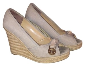 Ivanka Trump Tan Wedges