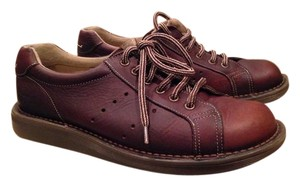 Dr. Martens Leather Brown Flats