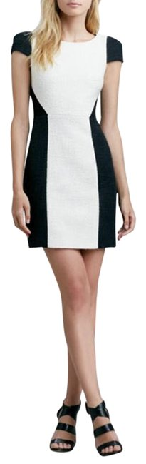Preload https://item2.tradesy.com/images/4collective-black-and-cream-knee-length-workoffice-dress-size-4-s-2028981-0-2.jpg?width=400&height=650
