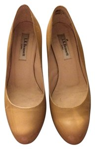 L.K. Bennett Wedge nude Wedges
