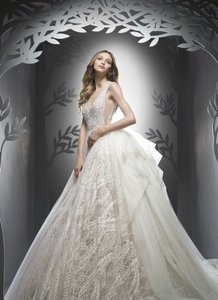 Ersa Atelier Bloom Gown In Irene Lace Wedding Dress