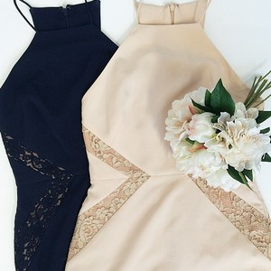 Ivory/Nude Lovehonor Isabella Dress Dress
