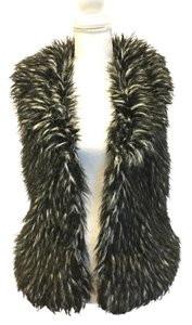 Grass Collection Faux Fur Fall Winter Vest