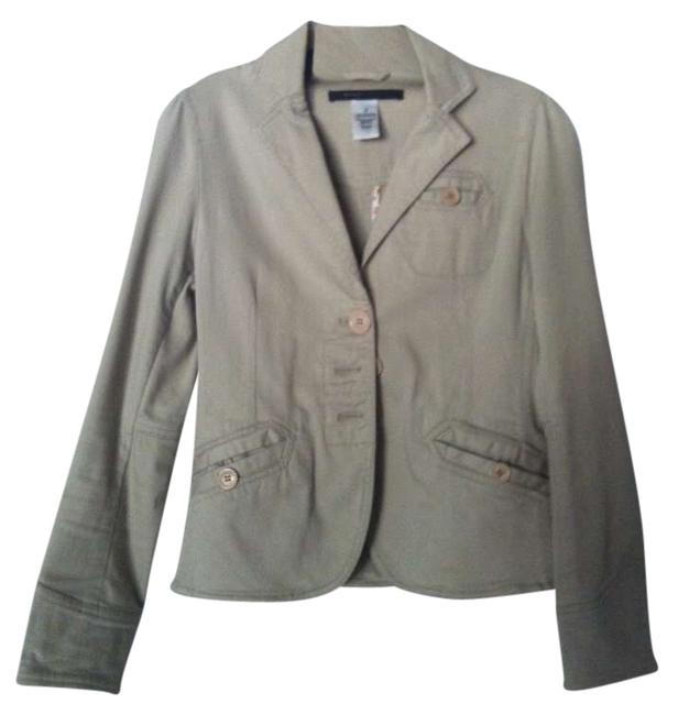 Preload https://img-static.tradesy.com/item/202901/marc-by-marc-jacobs-khaki-blazer-size-2-xs-0-0-650-650.jpg