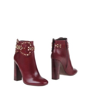 Tory Burch Maroon Red Boots