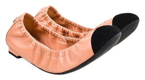 Chanel Light Suede Pink Flats
