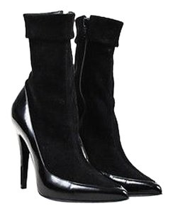 Pierre Hardy Suede Black Boots