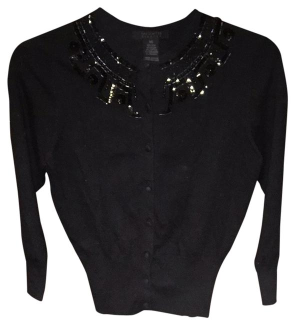 Preload https://item1.tradesy.com/images/the-limited-black-cardigan-size-2-xs-2029070-0-0.jpg?width=400&height=650