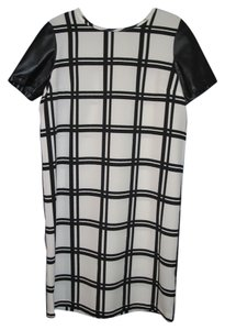 ASOS short dress Black & White Plaid Checkered on Tradesy