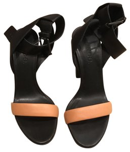 Vince black with nude strap Sandals