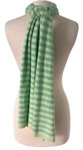 Theory 100% cashmere striped scarf