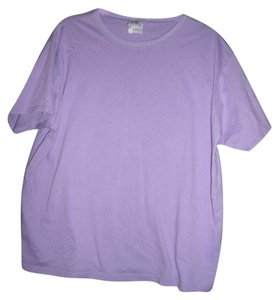 Just My Size Plus Light T Shirt Purple