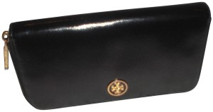 Tory Burch Tory Burch Zip around Shinny Continental Wallet