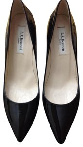 L.K. Bennett Patent Leather Black Pumps