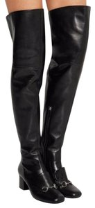 Gucci Lillian Over The Knee Mid Thigh Boots