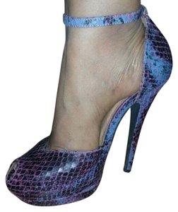 Naracamicie Purple and blue Platforms