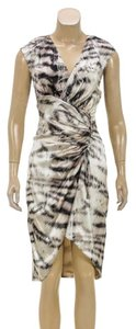 Roberto Cavalli short dress Brown/Multicolor on Tradesy