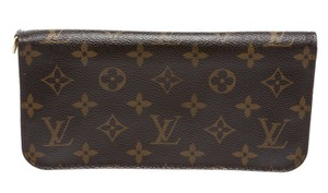 Louis Vuitton Louis Vuitton Brown Monogram Yellow Kusama Waves Insolite Wallet