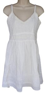 American Rag short dress White Summer New Indian Cotton on Tradesy