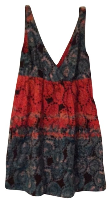 Preload https://item2.tradesy.com/images/old-navy-orange-turquoise-short-casual-dress-size-8-m-2029136-0-0.jpg?width=400&height=650