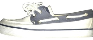 Sperry Navy and White Athletic