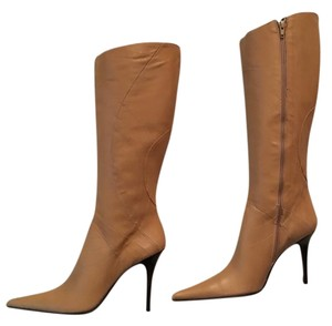 Charles David camel leather Boots
