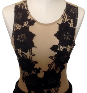 TIMING , GOLDEN COLOR WITH BLACK LACE Junior, SZL Top Golden color with Black Lace