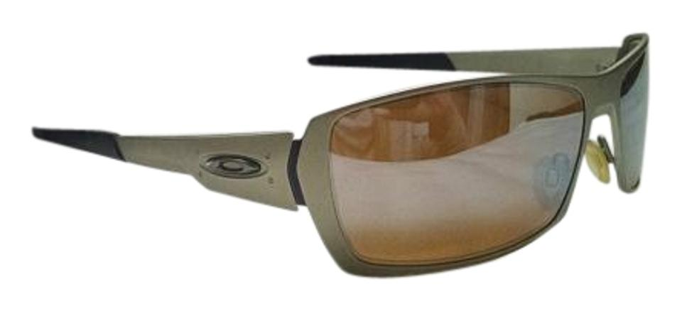 42c1acbc068 Oakley Brushed Gold Spike Titanium Sunglasses - Tradesy