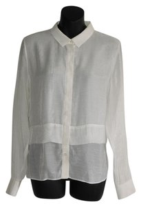 SuperTrash Button Down Shirt white