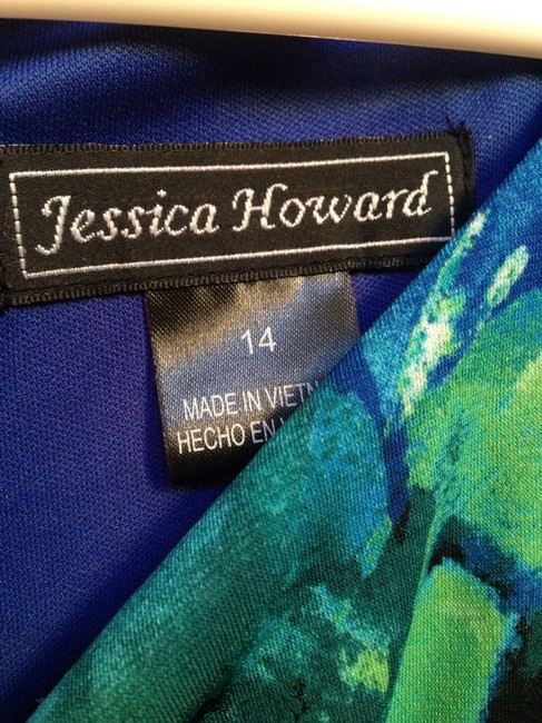 Jessica Howard short dress Multicolor Matte Jersey Size on Tradesy