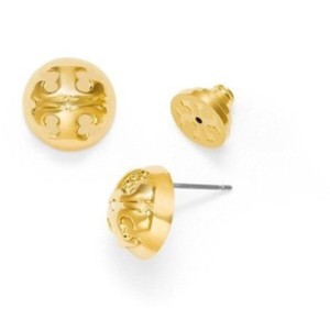Tory Burch Domes Logo Earrings