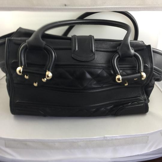 Burberry Satchel in Black Image 1