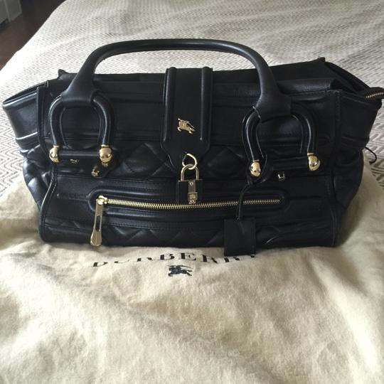 Burberry Satchel in Black Image 4