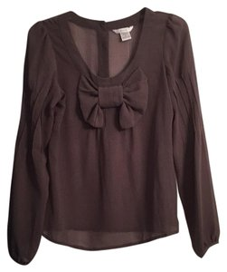 Esley Top Brown